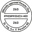 Officially approved Porsche Club 263